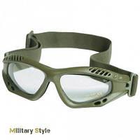 Очки десантные AIRPRO (Прозрачное стекло) (Olive)