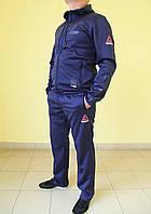 Мужской спортивный костюм  Reebok 02236 синий  код 365б