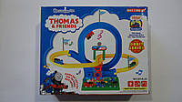 "Детский трек с горками ""Thomas & Friends"",муз,свет с пусковым мех,280*230*75мм.Трек дитячий з гірками ""Thomas"