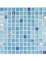 Стеклянная мозаика Vidrepur 501/734 TURQUESA 25х25 мм