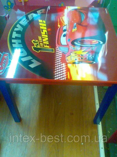 """Детский столик со стульчиками """"Тачки"""" J002-293"""