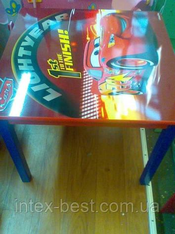 """Детский столик со стульчиками """"Тачки"""" J002-293, фото 2"""
