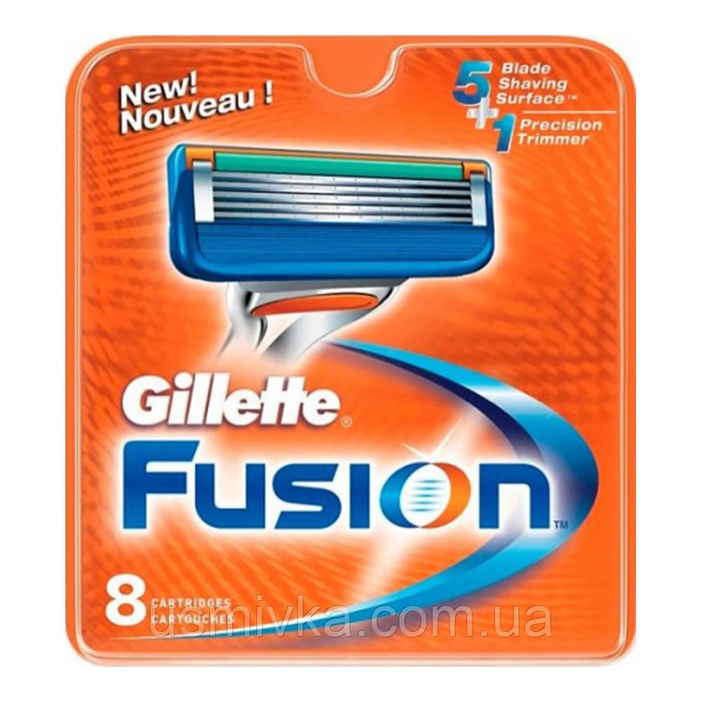 Сменные кассеты для бритья Gillette Fusion (8шт.) KG1710707