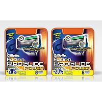 Сменные кассеты для бритья Gillette Fusion Power (8шт.)