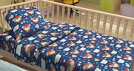 """Постельное белье из фланели в кроватку """"Bobo"""""""