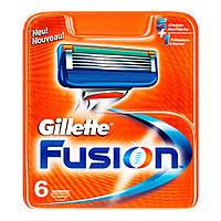 Сменные кассеты для бритья Gillette Fusion (6 шт.) KG1710706
