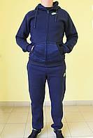 Мужской спортивный костюм Найк 828490 синий код 366б