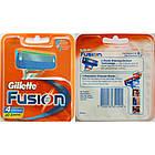 Сменные кассеты для бритья Gillette Fusion (4 шт.) KG1710705, фото 2