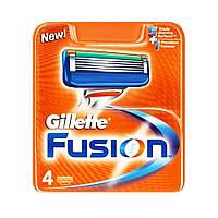 Сменные кассеты для бритья Gillette Fusion (4 шт.) KG1710705