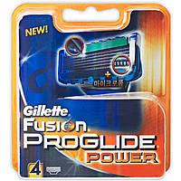 Сменные кассеты для бритья Gillette Fusion Power (4шт.) KG1710718