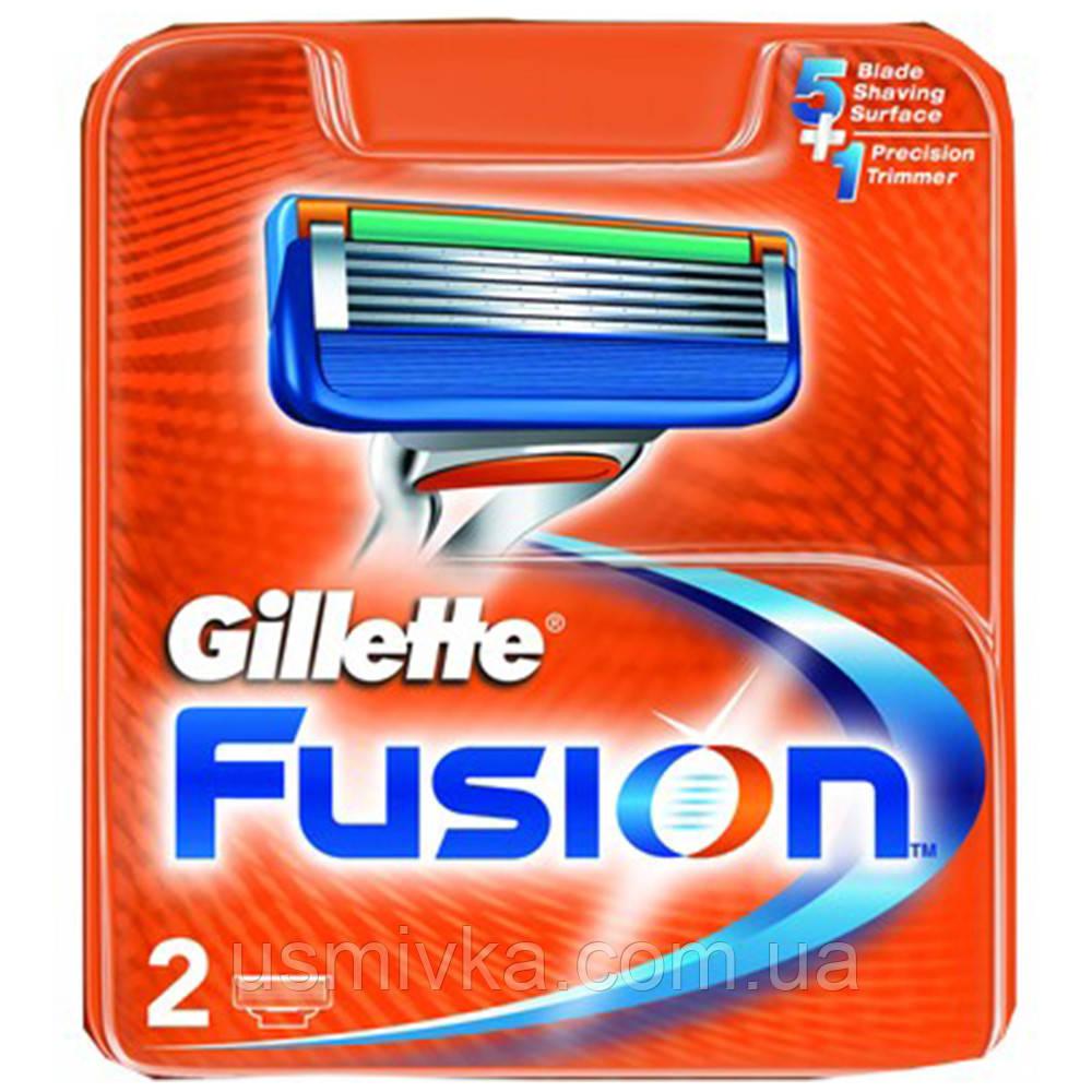 Сменные кассеты для бритья Gillette Fusion (2шт.) KG1710704