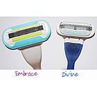 Сменные кассеты для бритья Gillette Venus Divine (3 шт.) + Embrace (1 шт.) KG1710744, фото 2