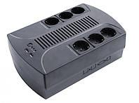 ИБП LogicPower 850VA-PS AVR, 6 евророзеток, 5 ступ. AVR, 8.0Ач12В