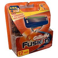 Сменные кассеты для бритья Gillette Fusion (12шт.) KG1710703