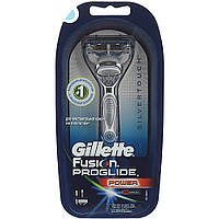 Бритвенный станок Gillette Fusion Proglide power и 1 кассета