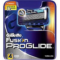 Сменные кассеты для бритья Gillette Fusion Proglide (4шт.) KG1710714