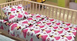 """Постельное белье из фланели в кроватку """"Lilu"""""""