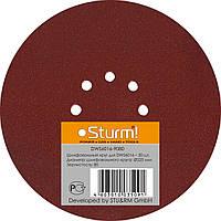 Шлифбумага круглая 225мм, зерно 080, 20шт Sturm DWS6016-9080