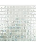 Стеклянная мозаика Vidrepur 710 WHITE BRUSH 25X25 мм