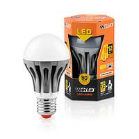 Светодиодная лампа шар Wolta 12Вт (90Вт) Е27,  дневной 30S60BL12E27