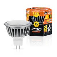 Светодиодная лампа Wolta 7Вт (50Вт) GU5.3, дневной 30SMR16-220-7GU5.3