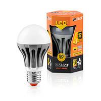 Светодиодная лампа Wolta шар 12Вт (90Вт) Е27, теплый 30Y60BL12E27