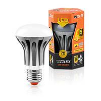 Светодиодная лампа Wolta  рефлектор 9Вт (75Вт) E27, теплый 30Y63R9E27