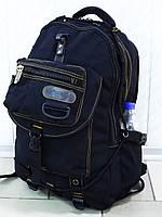 Большой брезентовый рюкзак для рыбалки и охоты GOLD BE! 703 Black