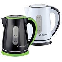 Электрический чайник Maestro 1,8 л (белый с черным)