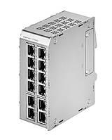 Модуль MS652419PM расширения 12 портов для коммутатора Microsens (8x10/100/1000T PoE+, 4x100/1000X SFP)