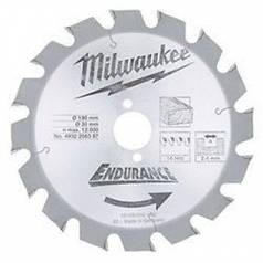Milwaukee 4932256387 Диск пильний 190х2,4х30 мм