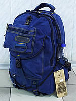 Большой брезентовый рюкзак для рыбалки и охоты GOLD BE! 703 джинс
