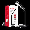 Светодиодная настольная лампа MAXUS 1-DKL-002-02 6W черная 4100K Код.55136