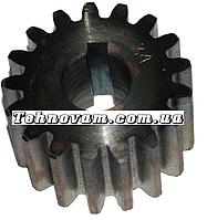 Шестерня бетономешалки 17 зубов (20*57 h32)