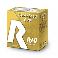 Патрон RIO Game Load C20 кал. 20/70 дробь №1 (4 мм) навеска 25 г