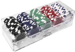 Набор для покера: 100 фишек Duke 100-S5