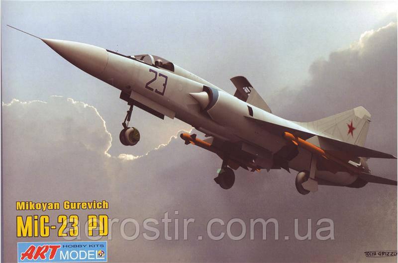 Истребитель МиГ-23ПД 1/72 ART Model 7208