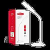 Светодиодная настольная лампа MAXUS 1-DKL-001-01 6W белая 4100K  Код.55137