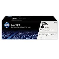 HP 35A Картридж Black (Черный) двойная упаковка (CB435AF)