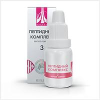 Жидкий пептидный комплекс № 3 для восстановления иммунной системы НПЦРИЗ