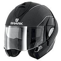 Мотошлем Shark Evoline Pro Carbon черный мат S