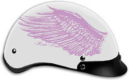 Мотошлем HOTLEATHERS Ride Free Wings DOT (M)