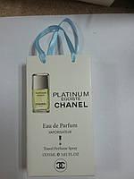 Подарочный набор парфюмерии Chanel Egoiste Platinum 35 мл