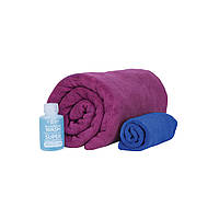Набор полотенец Sea To Summit Tek Towel Wash Kit X-Large + туристическое мыло
