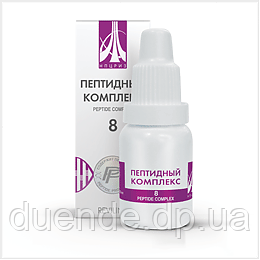 Жидкий пептидный комплекс № 8 для восстановления печени - Интернет-магазин «Duende» - товары для всей семьи в Днепропетровской области