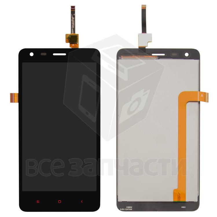 Дисплейный модуль для мобильного телефона Xiaomi Redmi 2, черный