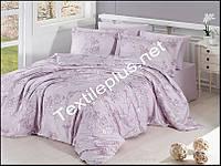 Постельное белье сатин евро First choice Dolaris violet