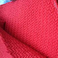 Пальтовая шерстяная ткань с фактурой вязкой