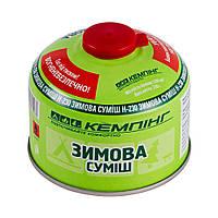 Резьбовой газовый баллон Кемпинг Зимняя смесь 230