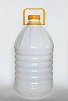 Пластикова пляшка ПЕТ 5л. (біла)